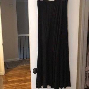 Bcbg black maxi skirt